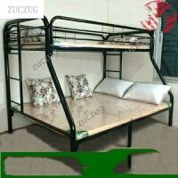 ZUCZUG 欧式铁艺高低床子母床两层床上下铺床上下床双层床金属铁床 上下床双层床金属铁床