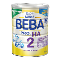 保税区直发 德国Nestlé雀巢BEBA贝巴适度水解奶粉2段(6-10个月)800g