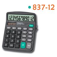 TRULY信利837-12电子计算器 大屏幕大按键计算机 TRULY 信利 837-12 计算器 837 带外置开关