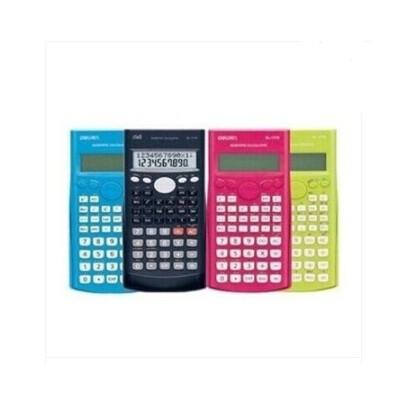 得力  1710A  计算器 函数计算器 学生计算器