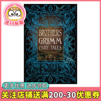 【Gothic Fantasy】格林童� 英文原版 Brothers Grimm Fairy Tales 格林兄弟 哥特