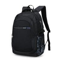 韩版潮流高中初中学生书包男生双肩包时尚大学生男士休闲电脑背包