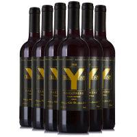 智利红酒整箱中央山谷卡斯藤珍藏美乐梅洛干红葡萄酒6瓶