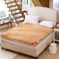 ???0.9米单人学生宿舍上下铺榻榻米加厚床垫1.8x2.0米折叠儿童床褥子