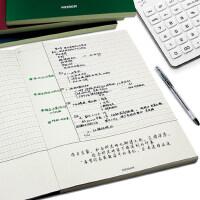 A4康奈尔笔记本加厚分栏读书笔记事本学习考虫课堂记录数学英语文具5R小方格本高考复习高效网格本子大学生用