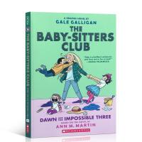 英文原版童书 小保姆俱乐部5 漫画版 The Baby-Sitters Club 5: Dawn and the Im