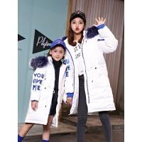 儿童羽绒服女童中长款加厚外套女大童亲冬季2018新款韩版洋气