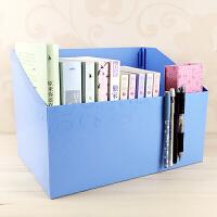 学生折叠布书箱柜子课本书本杂志盒子文具课桌整理箱收纳盒布书立 32cmx22cmx16cm