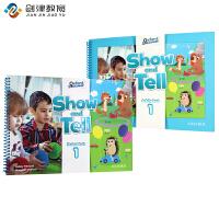 原版进口牛津大学出版社幼儿英语教材 show and tell 1级别入门级 3-6岁幼儿英语书籍 pyp国际幼儿园书