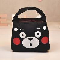 熊本熊便当包 饭盒袋手提包韩版清新 小妈咪包 保温包 带饭午餐包