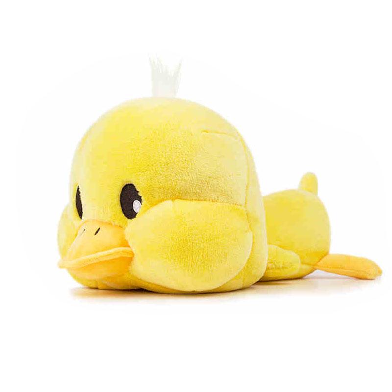毛绒玩具公仔小黄鸭公仔娃娃萌宠物玩偶生日礼物抱枕 黄色【现货】 30厘米