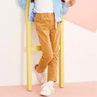 美特斯邦威旗下 女童多方案梭织裤