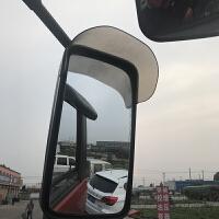 大货车通用后视镜雨眉倒车镜晴雨挡反光镜雨眉雨挡轻卡J6欧曼德龙 货车通用倒车镜雨眉一对