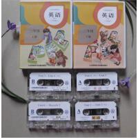 新版正版 人教版 PEP 小学英语录音带 磁带 3 三年级上册+下册 现货 新课标 三年级上下册一套听力语音磁带