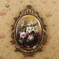 欧式壁饰壁挂卧室墙上挂饰 客厅墙壁装饰创意挂件复古家居装饰品