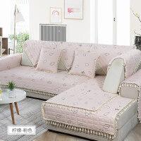 布艺沙发垫四季通用型现代简约防滑坐垫沙发罩沙发套非�f能套全包