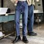 【年货节 直降到底】牛仔裤女宽松高腰直筒裤2020春季新款韩版坠感九分百搭阔腿裤