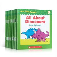 【全店300减100】英文原版 幼儿宝宝启蒙读物 First Little Readers--LEVEL C 25册 学