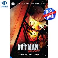 英文原版 Batman Who Laughs 狂笑之蝠 DC漫画 蝙蝠侠 纽约时报畅销图画小说 黑暗骑士团 黑暗多元宇宙