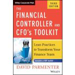 【预订】The Financial Controller and Cfo's Toolkit 978111928654