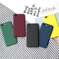 纯黑色软壳苹果6s手机壳iPhone7 硅胶壳iPlus/8X全包磨砂情侣挂绳 iPhone7p/8p 软壳墨绿色