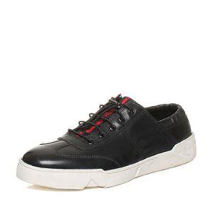 Teenmix/天美意秋专柜同款软面牛皮舒适平跟男休闲鞋BCB04CM6