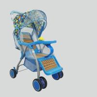 W 竹藤婴儿小推车藤编易伞车坐式超轻便夏季儿童宝宝凉椅夏天