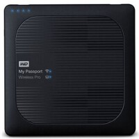 WD西部��� My Passport Wireless Pro 2TB wifi移�佑脖P2T WDBP2P0020BB