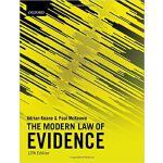 【预订】The Modern Law of Evidence 9780198811855
