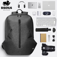 佰圣爵士时尚潮流双肩包 男运动休闲大容量旅行包 学生背包电脑书包