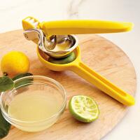 美国品牌Chef'n手动榨汁器 柠檬夹 挤柠檬器102-159-018
