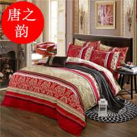 床上四件套1.8m2.0米床双人被套加厚磨毛秋春秋季