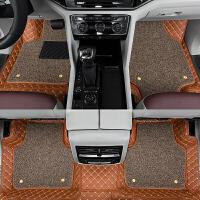 大众途昂脚垫全包围7座专车专用2017款丝圈内饰改装七座汽车脚垫