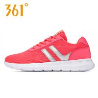 361女鞋跑步鞋2018夏季新品361度女休闲鞋轻便跑361° 681732277