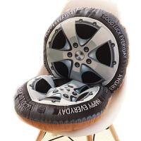 3D水果靠垫坐垫一体地板办公室椅垫加厚学生座垫餐椅凳子屁股垫子 【可拆分】抱枕+坐垫连体