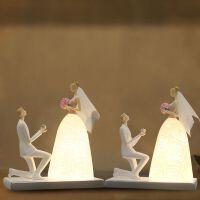 【优选】结婚礼物新婚庆送闺蜜朋友实用纪念日定制订婚房装饰礼品台灯摆件