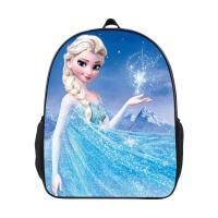 儿童书包幼儿园 男童女孩男女孩双肩包 冰雪奇缘女童爱莎公主背包