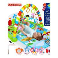 婴儿脚踏健身架器0-1岁新生儿钢琴玩具孩子宝宝躺着玩的脚踏抖音