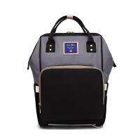 2018新款多功能大容量妈咪包时尚双肩包母婴包外出宝妈包书包背包