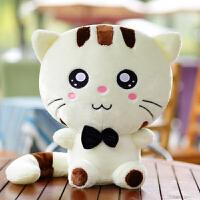 创意生日礼物女生圣诞女友大脸猫毛绒玩具小猫咪公仔抱枕布偶娃娃