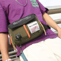 男士腰包防水胸包运动休闲手机腰包随身单肩迷你小包户外旅游女式