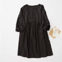 【1件2折到手价:53】美特斯邦威连衣裙女士夏装甜美可爱天丝宽松连衣裙
