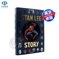现货塔森出版 新版 斯坦李传记 漫威之父 THE STAN LEE STORY NEW XXL大开本 画集画册珍藏版 M