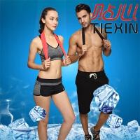 男女士降温冰巾透气长擦汗健身跑步冰凉吸汗巾冷感运动毛巾