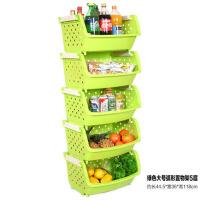 家居用品塑料厨房置物架储物整理架收纳篮