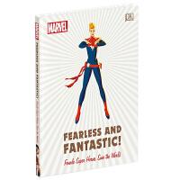 现货 英文原版 DK 漫威超级女英雄设定集百科 Marvel Fearless and Fantastic! 漫威无畏而