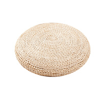 传统蒲团坐垫草编榻榻米飘窗瑜伽布艺瑜伽加厚圆形地板日式草垫子