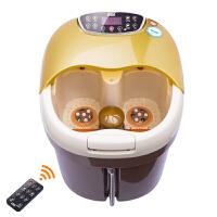 家用MH-818全自动足浴盆洗脚盆深桶电动按摩加热泡脚盆足浴器