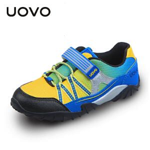 UOVO男童运动鞋春季新款童鞋小孩子的鞋子中大童儿童休闲鞋潮 马赛马拉