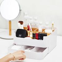 橙舍 方糖收纳盒 创意多功能桌面收纳盒大号化妆品收纳盒办公文具分类置物箱